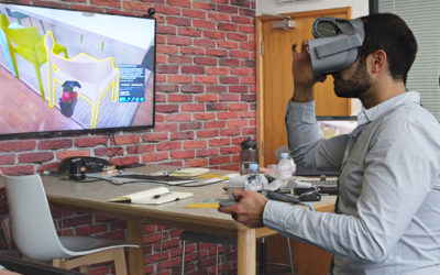 Using Virtual Reality to Visualise Projects