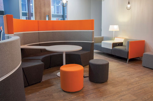 Ergonomics: Task Zoning, Privacy and Acoustics Protection