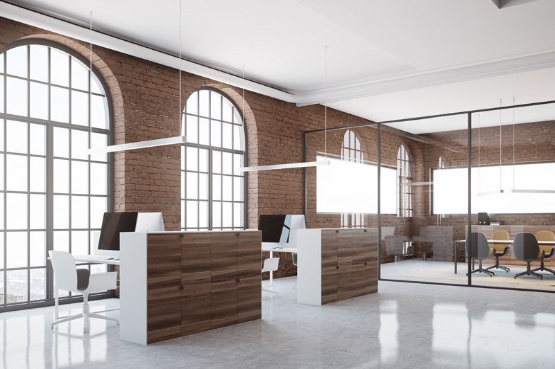 5 Examples of Natural Light in Office Interiors