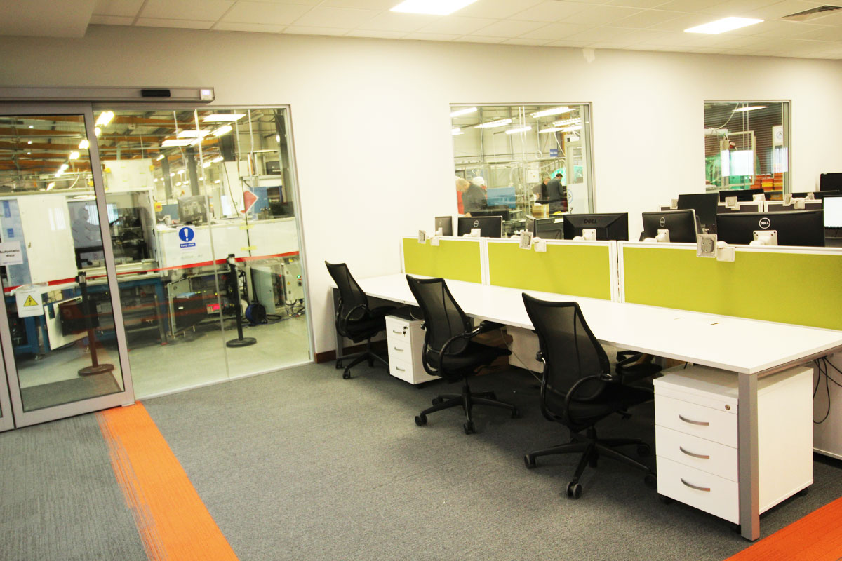 Modular Automation Office Design M2 Office Interiors
