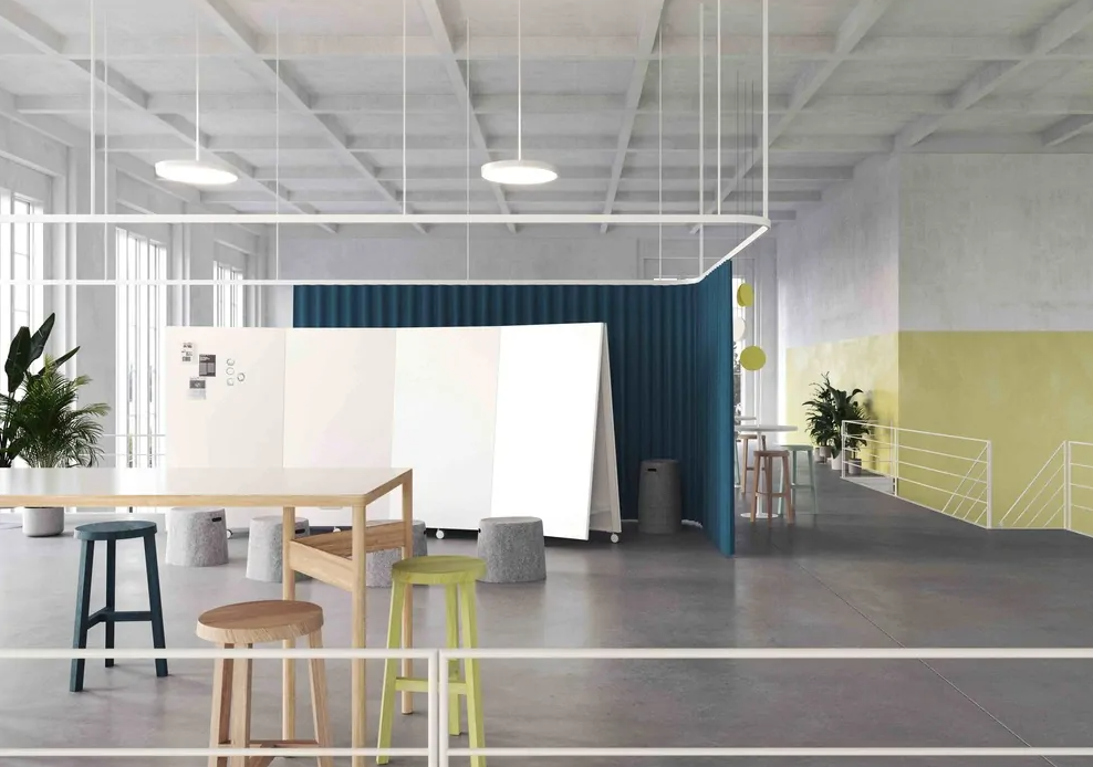 Moving Walls – the key to the agile office
