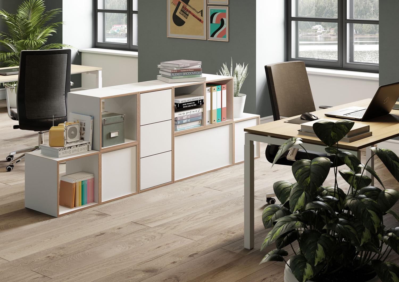 personal storage shelves