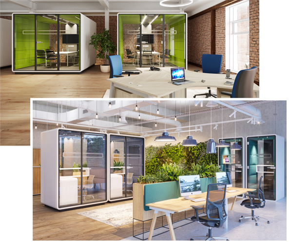 M2 Office Interiors Agile Working